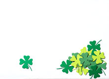 St. Patrick's Day shamrocks Stock Photography