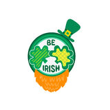St. Patrick`s Day sign Stock Photos