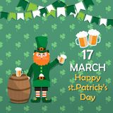 St.Patrick`s Day 05 royalty free illustration