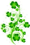 St. Patrick's Day swirl Royalty Free Stock Photography