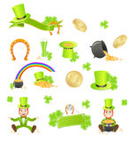 St. Patrick's Day symbols Stock Photo