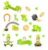 St. Patrick's Day symbols Stock Photo