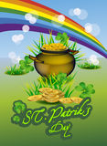 St. Patrick's Day symbols. Vector illustration Royalty Free Stock Images