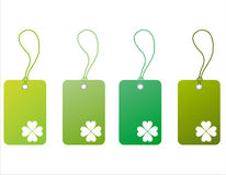 St. patrick's day tags Royalty Free Stock Photography