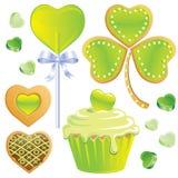 St Patrick's Day Treats royalty free stock photography