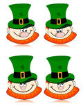 St. Patrick's day vector background. Royalty Free Stock Image