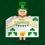 St. Patrick`s Day vector design elements set. Royalty Free Stock Photos