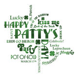 St. Patrick's Day Vector Illustration Royalty Free Stock Photography
