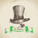 St. Patrick's Day vintage background Royalty Free Stock Photography