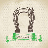 St. Patrick's Day vintage background Royalty Free Stock Photo