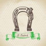 St. Patrick's Day vintage background Royalty Free Stock Photo
