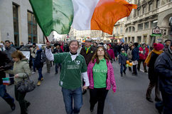 Saint Patrick's Day in Bucharest 8 Royalty Free Stock Photo