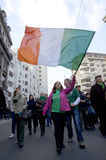 Saint Patrick's Day in Bucharest 9 Stock Image
