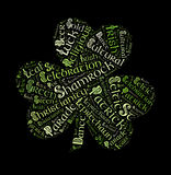 St. Patrick`s day  word cloud Stock Image
