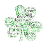 St. Patrick`s day  word cloud Stock Images
