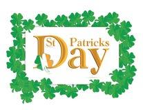 St. Patrick's Days design Royalty Free Stock Photography