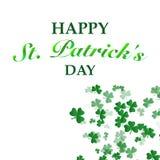 St Patrick `s de Achtergrond van de Dag vector illustratie