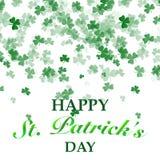 St Patrick `s de Achtergrond van de Dag royalty-vrije illustratie
