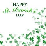 St Patrick `s de Achtergrond van de Dag stock illustratie