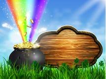 St Patrick s de groene pot van het Dagsymbool Royalty-vrije Stock Foto