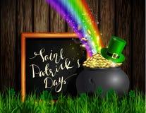 St Patrick s de groene pot van het Dagsymbool Royalty-vrije Stock Foto's