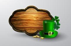 St Patrick s de raad van het Dagsymbool Royalty-vrije Stock Foto's
