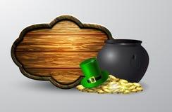 St Patrick s de raad van het Dagsymbool Stock Afbeelding