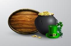 St Patrick s de raad van het Dagsymbool Stock Foto's