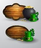 St Patrick s de raad van het Dagsymbool Stock Foto