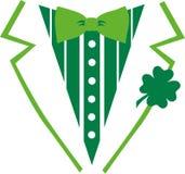 St Patrick ` s dnia kostium dla koszulki royalty ilustracja
