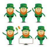 St Patrick ` s dnia leprechaun set Fotografia Stock