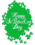 St Patrick s dnia powitanie Fotografia Stock