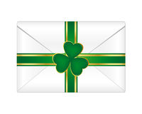St. Patrick's envelope Royalty Free Stock Photo
