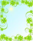 St. Patrick's frame Stock Photo