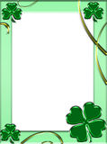 ST. Patrick's frame Royalty Free Stock Photography