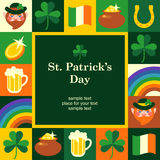 St Patricks frame Royalty Free Stock Photo