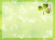 St. Patrick's frame Stock Photos