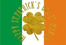 St Patrick ` s giorno 17 marzo felice Fotografie Stock Libere da Diritti