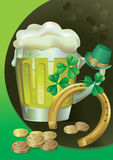 St. Patrick's Green Beer Royalty Free Stock Images