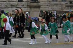 St Patrick ` s groene de Brandmotor van de Dagparade 2017 zeer royalty-vrije stock afbeelding