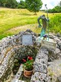 St- Patrick` s gut, Ballintubber-Abtei lizenzfreies stockfoto