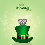St. Patrick`s hat Royalty Free Stock Image