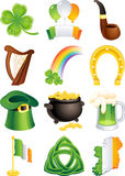 St. patrick's icon Stock Images