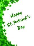 St Patrick ` s kartka z pozdrowieniami ilustracja wektor
