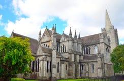 St Patrick& x27; s katedra w Dublin, Irlandia zdjęcie stock