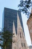 St- Patrick` s Kathedrale, New York lizenzfreie stockbilder