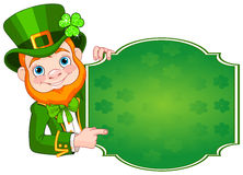 St. Patrick's Leprechaun Royalty Free Stock Photography