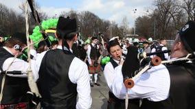 St. Patrick's parade - irish stock video footage