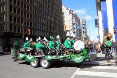 St Patric`s Day in Toronto Stock Image