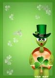St. Patrick's postcard Stock Image